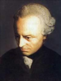 Иммануил Кант (1724 - 1804), немецкий философ и ученый, основоположник классического немецкого идеализма