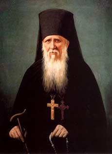 Преподобный Амвросий Оптинский (в миру Александр Михайлович Гренков) (1812-1891), канонизирован в июне 1987 года.