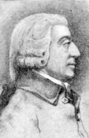 Адам Смит, английский экономист и философ