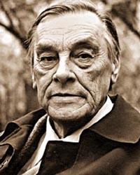 Арсений Тарковский (1907-1989), русский поэт и переводчик с восточных языков.