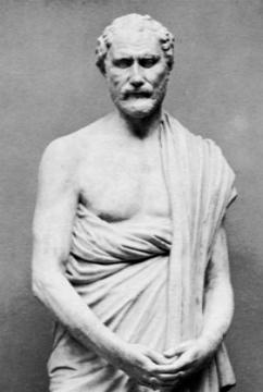 Демосфе́н (греч. Δημοσθένης; 384 г. до н. э., Афины — 322 г. до н. э.) — знаменитый оратор Древнего мира.