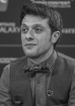 Арам Саргсян, более известный как Арам MP3 (5 апреля 1984, Ереван) - армянский певец, шоумен и комик.