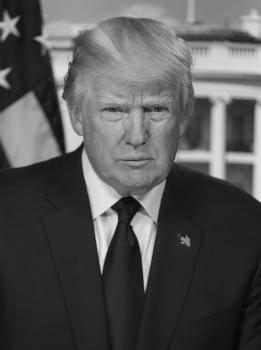 До́нальд Джон Трамп (14 июня 1946 года, США) - 45-й президент Соединённых Штатов Америки с 20 января 2017 года.