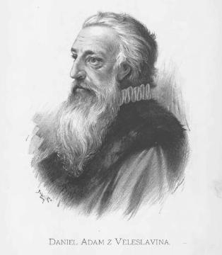 Даниэль Адам из Велеславина (чеш. Daniel Adam z Veleslavína) — чешский книгоиздатель, писатель.