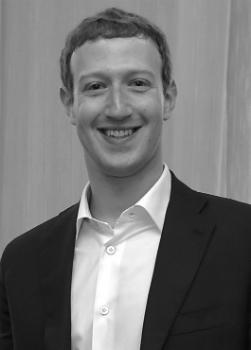 Марк Э́ллиот Цу́керберг - американский программист, миллиардер, разработчик и основатель социальной сети Facebook.