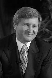 Ринат Ахметов — известный донецкий предприниматель, промышленник, миллиардер
