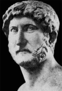 Публий Элий Траян Адриан, больше известный как Адриан, древнеримский император (годы правления: 11 августа 117 — 10 июля 138).