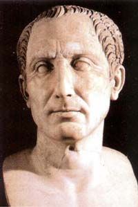 Гай Юлий Цезарь (100 или 102 до н.э. — 44 год до н.э.) — древнеримский государственный и политический деятель, полководец