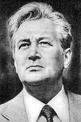 Олесь Гончар, украинский писатель и сценарист, академик АН Украинской ССР