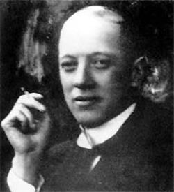 Николай Гумилев (1886 - 1921), известный русский поэт