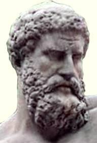Гера́кл (др.-греч. Ἡρακλῆς, лат. Herculēs, Геркуле́с) — в древнегреческой мифологии герой, сын бога Зевса и Алкмены — жены героя