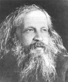 Дмитрий Иванович Менделеев (1834-1907), русский учёный (химик, физик, геолог, метеоролог), общественный деятель.