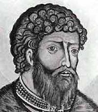 Ярослав I Мудрый (978 - 1054), великий князь Киевский, из рода Рюриковичей, укрепил границы Руси, почитается как святой