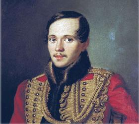 Михаил Юрьевич Лермонтов, великий русский поэт.