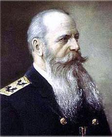 Степан Макаров (1849-1904), русский флотоводец, океанограф, полярный исследователь, кораблестроитель, вице-адмирал (1896)