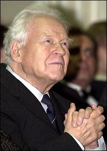 Тихон Хренников (1913-2007), композитор, глава Союза композиторов СССР (1948—1991), профессор Московской консерватории.