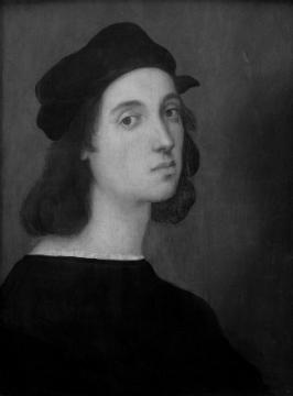 Рафаэ́ль Са́нти (28 марта 1483, Урбино — 6 апреля 1520, Рим) — великий итальянский живописец, график и архитектор.