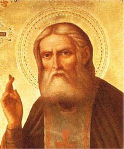 Серафим Саровский (1759-1833), в миру Прохор Исидорович Мошнин, преподобный, один из самых почитаемых святых русской церкви