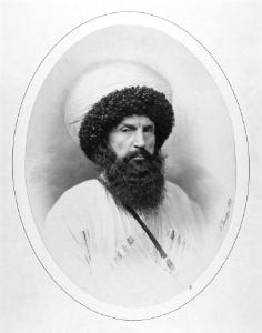 Шами́ль - предводитель кавказских горцев, в 1834 признанный имамом теократического государства — Северо-Кавказский имамат