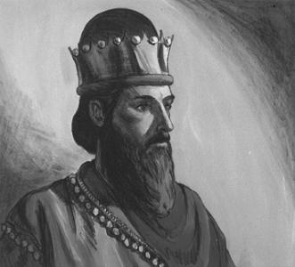 Соломо́н - третий еврейский царь, легендарный правитель объединённого Израильского царства в 965—928 г. до н. э.