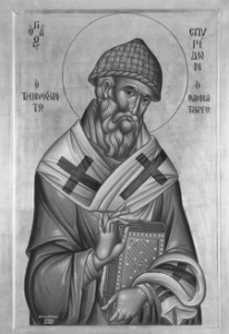 Спиридо́н Тримифу́нтский - христианский святой, почитается в лике святителей как чудотворец.