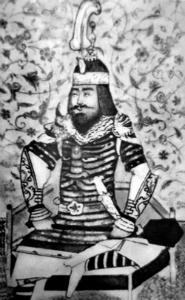 Тамерла́н, Тиму́р - из племени барласов, среднеазиатский тюркский полководец и завоеватель.
