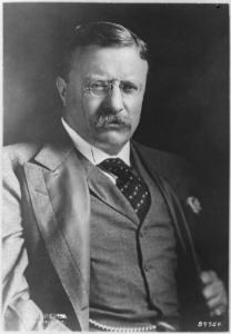Теодо́р Ру́звельт (27 октября 1858 г. — 6 января 1919 г.) - американский политик, 25-й вице-президент США, 26-й президент США