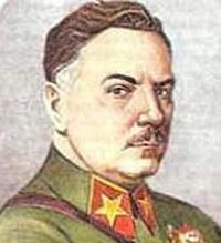 Климент Ворошилов (1881-1969), советский военачальник, партийный деятель, один из первых Маршалов Советского Союза.