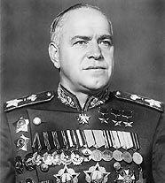 Георгий Константинович Жуков (1896-1974), легендарный полководец Великой Отечественной войны, Маршал Советского Союза (с 1943).